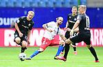 v.l. Emanuel Taffertshofer, Martin Harnik (HSV), Julius Biada<br />Hamburg, 28.06.2020, Fussball 2. Bundesliga, Hamburger SV - SV Sandhausen<br />Foto: Tim Groothuis/Witters/Pool//via nordphoto<br /> DFL REGULATIONS PROHIBIT ANY USE OF PHOTOGRAPHS AS IMAGE SEQUENCES AND OR QUASI VIDEO<br />EDITORIAL USE ONLY<br />NATIONAL AND INTERNATIONAL NEWS AGENCIES OUT