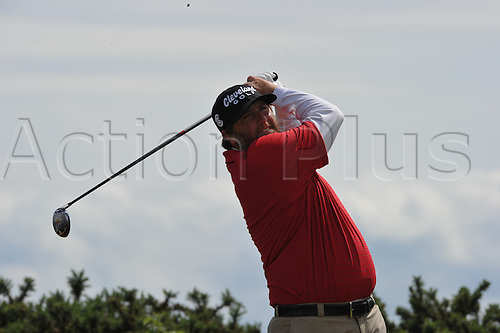 18/07/2010   Steve marino (USA)  in action on the final day of the Open (also known as the British Open) on the Old Course at St Andrews, Fife, Scotland