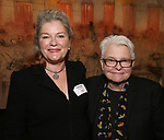 Kate Mulgrew and Paula Vogel attends The Vineyard Theatre's Emerging Artists Luncheon at The National Arts Club on November 9, 2017 in New York City.