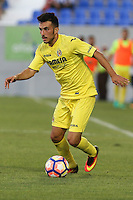 Villarreal's Antonio Rukavina during the XXXVII trophy of Legane's City between CD Leganes and Villarreal CF at Butarque Stadium. August 13, 2016. (ALTERPHOTOS/Rodrigo Jimenez) /NORTEPHOTO