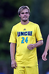 15 September 2015: UNCW's Ryan Nally. The Duke University Blue Devils hosted the University of North Carolina Wilmington Seahawks at Koskinen Stadium in Durham, NC in a 2015 NCAA Division I Men's Soccer match. UNCW won the game 3-0.