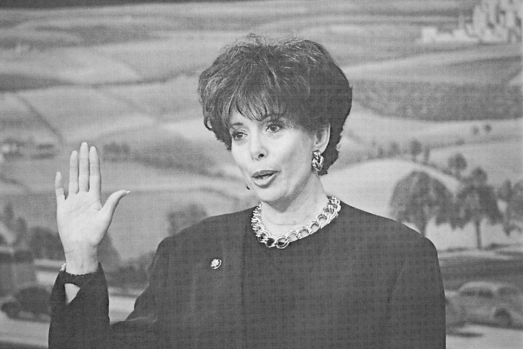 Rep. Helen P. Chenoweth-Hage, R-Idaho on December 8, 1999. (Photo by Rebecca Roth/CQ Roll Call)