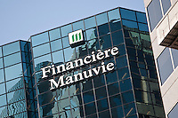 A Financiere Manuvie (Manulife Financial Corporation) offices is pictured in Montreal Friday October 26, 2012. Manulife Financial Corporation is a Canadian insurance company and financial services provider.