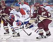 Kim Brandvold, Andrew Orpik - The Boston College Eagles defeated the University of Massachusetts-Lowell River Hawks 4-3 in overtime on Saturday, January 28, 2006, at the Paul E. Tsongas Arena in Lowell, Massachusetts.