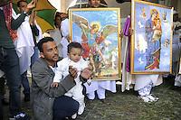- Milano, festa per la Nativit&agrave; della Madonna presso la chiesa ortodossa della comunit&agrave; Eritrea<br /> <br /> - Milan, celebration for the Nativity of Our Lady in the  Orthodox church of the Eritrean community