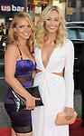 HOLLYWOOD, CA - JUNE 21: Jessica Barth and Laura Vandervoort attend the 'Ted' World Premiere held at Grauman's Chinese Theatre on June 21, 2012 in Hollywood, California.