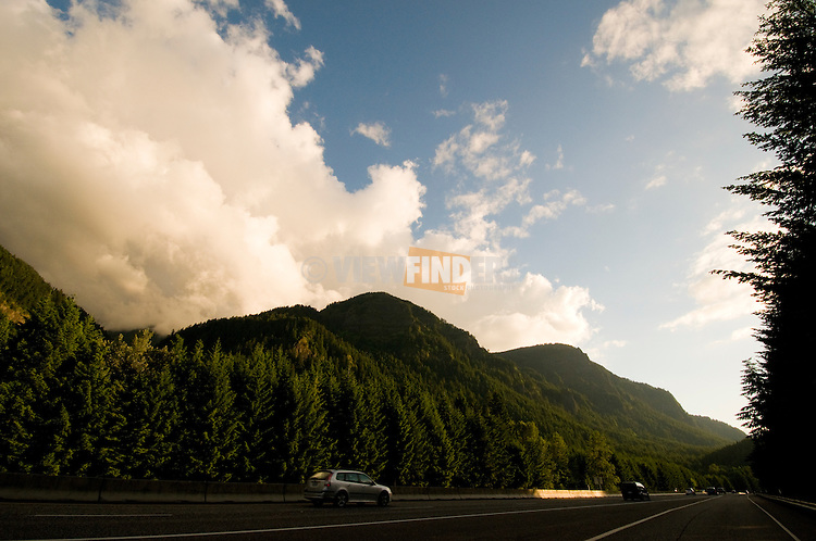 I-84 in the Columbia River Gorge, Oregon