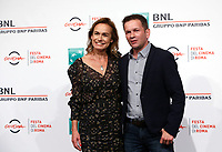 "French actress Sandrine Bonnaire, left, and director Gael Morel pose during a photo call to present the movie ""Prendre le large"" (""Catch the wind"") during the international Rome Film Festival at Rome's Auditorium, 29 October 2017.<br /> UPDATE IMAGES PRESS/Riccardo De Luca"
