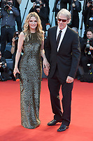 VENICE, ITALY - SEPTEMBER 5: Michelle Pfeiffer and David E. Kelley attend the premiere for Mother during the 74th Venice Film Festival on September 5, 2017 in Venice, Italy.<br /> CAP/BEL<br /> &copy;BEL/Capital Pictures