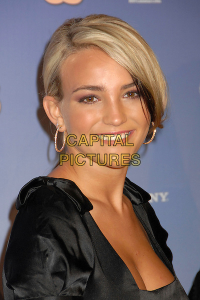 JAMIE LYNN SPEARS.US Weekly's Hot Hollywood 2007 at Opera, Hollywood, California, USA..September 26th, 2007.headshot portrait gold hoop earrings .CAP/ADM/BP.©Byron Purvis/AdMedia/Capital Pictures.