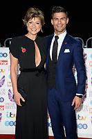 LONDON, UK. October 29, 2018: Kate Silverton &amp; Alijaz Skorjanic at the Pride of Britain Awards 2018 at the Grosvenor House Hotel, London.<br /> Picture: Steve Vas/Featureflash