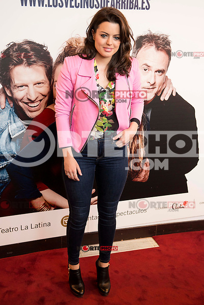 "Adriana Torrebejano attends to the premiere of the theater play ""Los Vecinos de Arriba"" of the director Cesc Gayt at Teatro La Latina in Madrid. April 13, 2016. (ALTERPHOTOS/Borja B.Hojas)"