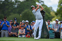 Rickie Fowler (USA) watches his tee shot on 4 during round 2 of the 2019 Tour Championship, East Lake Golf Course, Atlanta, Georgia, USA. 8/23/2019.<br /> Picture Ken Murray / Golffile.ie<br /> <br /> All photo usage must carry mandatory copyright credit (© Golffile | Ken Murray)