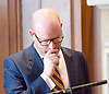 Paul Nuttall MEP <br /> UKIP Leader makes a Brexit speech #SixKeysTests at the Marriott Hotel, London, Great Britain <br /> 27th March 2017 <br /> <br /> Ahead of the Prime Minister triggering Article 50 next week, UKIP Leader Paul Nuttall sets out six key tests by which the country can judge Theresa May's Brexit negotiations in a keynote speech on this coming Monday morning.<br /> <br /> <br /> <br /> <br />  <br /> Photograph by Elliott Franks <br /> Image licensed to Elliott Franks Photography Services