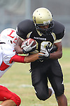 Palos Verdes, CA 09/30/11 - James Nelson (Peninsula #26) in action during the Lawndale-Peninsula Varsity football game.