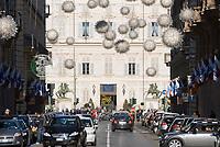 Italien, Piemont, Hauptstadt Turin: Via Roma | Italy, Piedmont, capital Torino: Via Roma,