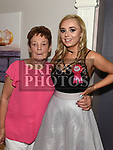 Jessica Branigan celebrating her 21st birthday with grandmother Clare Fitzpatrick in Barocco at the Westcourt hotel. Photo:Colin Bell/pressphotos.ie