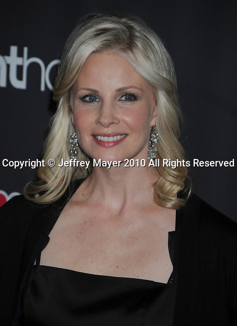 """WEST HOLLYWOOD, CA. - February 22: Monica Potter attends the Los Angeles premiere of """"Parenthood"""" at the Directors Guild Theatre on February 22, 2010 in West Hollywood, California."""