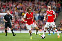 David Luiz of Arsenal on the ball during the Premier League match between Arsenal and Aston Villa at the Emirates Stadium, London, England on 22 September 2019. Photo by Carlton Myrie / PRiME Media Images.