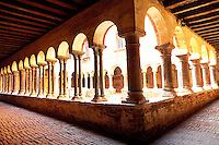 Italy, Venice, Museo Diocesano. The cloister of Sant'Apollonia is the only Romanesque building in Venice
