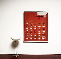 "Berberian: Inner Sense, Digital Print, Image Dims. 34"" x 27.5"", Framed Dims. 35"" x 28.75"""