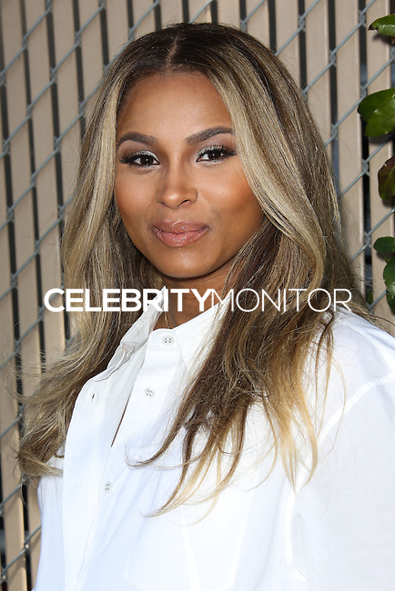 WEST HOLLYWOOD, CA, USA - APRIL 05: Ciara at the Safe Kids Day Event 2014 -  Los Angeles held at The Lot on April 5, 2014 in West Hollywood, California, United States. (Photo by Celebrity Monitor)