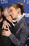 John Deluca and Emily Blunt attends a screening of 'Mary Poppins Returns' hosted by The Cinema Society at SVA Theater on December 17, 2018 in New York City.