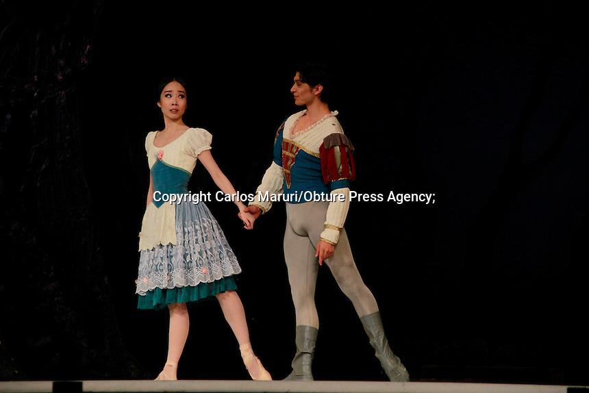 """México DF 19/Junio/2015.- La Compañía Nacional de Danza presentará el ballet """"Giselle"""" el sábado 20 de junio, el domingo 21, el martes 23 y el jueves 25 a las en la Sala Principal del Palacio de Bellas Artes."""