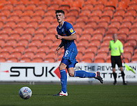Photographer Stephen White/CameraSport<br /> <br /> The EFL Sky Bet League One - Blackpool v Rochdale - Saturday 6th October 2018 - Bloomfield Road - Blackpool<br /> <br /> World Copyright © 2018 CameraSport. All rights reserved. 43 Linden Ave. Countesthorpe. Leicester. England. LE8 5PG - Tel: +44 (0) 116 277 4147 - admin@camerasport.com - www.camerasport.comRochdale's Ryan Delaney<br /> <br /> Photographer Stephen White/CameraSport<br /> <br /> The EFL Sky Bet League One - Blackpool v Rochdale - Saturday 6th October 2018 - Bloomfield Road - Blackpool<br /> <br /> World Copyright © 2018 CameraSport. All rights reserved. 43 Linden Ave. Countesthorpe. Leicester. England. LE8 5PG - Tel: +44 (0) 116 277 4147 - admin@camerasport.com - www.camerasport.com