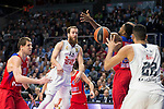 Real Madrid's player Sergio Rodriguez during the match between Real Madrid and CSKA Moscu of Turkish Airlines Euroleague at Barclaycard Center in Madrid, March 02, 2016. (ALTERPHOTOS/BorjaB.Hojas) during the match between Real Madrid and CSKA Moscu of Turkish Airlines Euroleague at Barclaycard Center in Madrid, March 02, 2016. (ALTERPHOTOS/BorjaB.Hojas) during the match between Real Madrid and CSKA Moscu of Turkish Airlines Euroleague at Barclaycard Center in Madrid, March 02, 2016. (ALTERPHOTOS/BorjaB.Hojas) during the match between Real Madrid and CSKA Moscu of Turkish Airlines Euroleague at Barclaycard Center in Madrid, March 02, 2016. (ALTERPHOTOS/BorjaB.Hojas)
