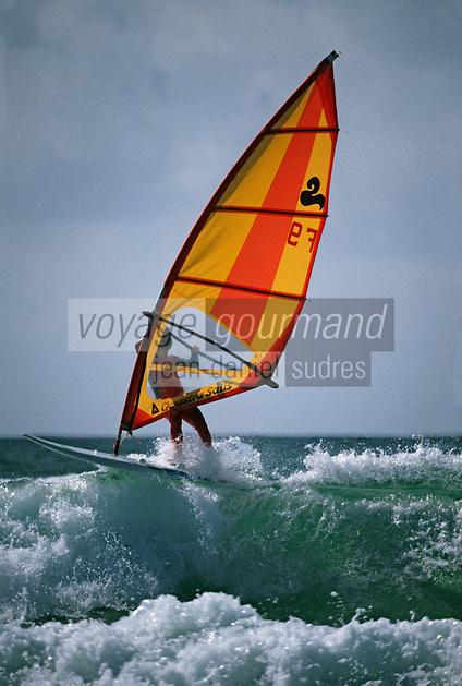 Europe/France/Bretagne/29/Finistère/Pointe de la Torche: Championnat du monde de planche à voile