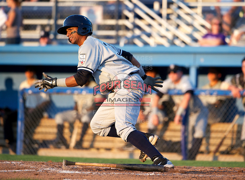 Staten Island Yankees infielder Jose Rosarios #31 during a game against the Batavia Muckdogs at Dwyer Stadium on July 30, 2012 in Batavia, New York.  Batavia defeated Staten Island 5-4 in 11 innings.  (Mike Janes/Four Seam Images)
