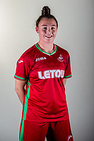 Wedensday 26 July 2017<br />Pictured: Lowri Ridings<br />Re: Swansea City Ladies Squad 2017- 2018 at the Liberty Stadium, Wales, UK
