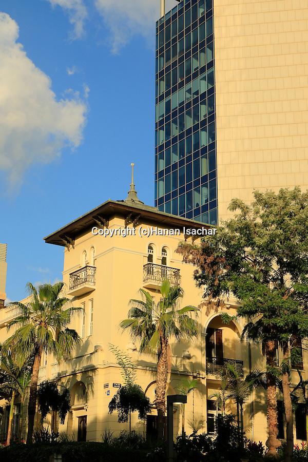Israel, Tel Aviv, the former Russian Embassy house on Rothschild boulevard