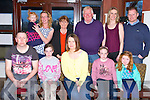 Janice McQue, Caherleaheen, Tralee, celebrates her 40th birthday with family at O'Donnell on Saturday. Pictured front l-r  Adrian McQue, Aiofe McQue, Janice McQue, Grainne McQue, Riosin O'Mahony, Back l-r Eibhleann and Geraldene O'Mahony, Margaret O'Mahony, Christy O'Mahony, Geraldene McCarthy and Barry O'Mahony