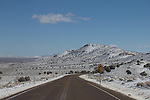 Road trip, Nevada, US Highway 50, loneliest road in America, basin and range, winter, spring, landscape, scenic,