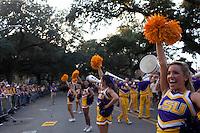 BATON ROUGE- NOV 3: Louisiana State University vs. Alabama at Death Valley in Baton Rouge, Louisiana, on Saturday, November 3, 2012. (Photo by Landon Nordeman)