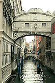 Venice, Italy - March 24, 2006 -- The Bridge of Sighs, which was built in around 1600 to serve as a passageway between the Palazzo Ducale and the prison, in Venice, Italy on March 24, 2006.  The bridge spans the Rio Del Palazzo. It earned its name from the sighs of prisoners being led to trial or to jail after their conviction..Credit: Ron Sachs / CNP