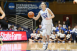 27 January 2013: Duke's Haley Peters. The Duke University Blue Devils played the Boston College Eagles at Cameron Indoor Stadium in Durham, North Carolina in an NCAA Division I Women's Basketball game. Duke won the game 80-56.