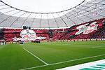 11.05.2019, BayArena, Leverkusen, GER, 1. FBL, Bayer 04 Leverkusen vs. FC Schalke 04 ,<br />  <br /> DFL regulations prohibit any use of photographs as image sequences and/or quasi-video<br /> <br /> im Bild / picture shows: <br /> choreo Leverkusen <br /> <br /> Foto &copy; nordphoto / Meuter