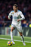 Cristiano Ronaldo of Real Madrid in action during the La Liga 2017-18 match between Atletico de Madrid and Real Madrid at Wanda Metropolitano  on November 18 2017 in Madrid, Spain. Photo by Diego Gonzalez / Power Sport Images