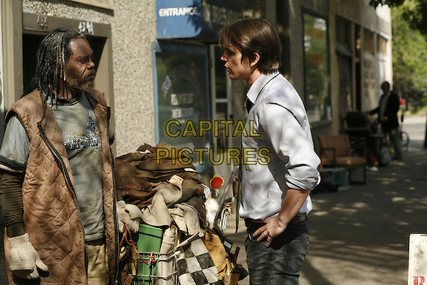 SAMUEL L. JACKSON & JOSH HARTNETT.in Resurrecting the Champ .**Editorial Use Only**.CAP/FB.Supplied by Capital Pictures