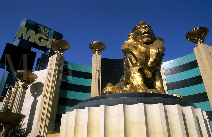 MGM Hotel on the Strip, Las Vegas Nevada, USA