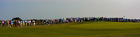 Part of the crowd at the 17th green during Round 4 of the East of Ireland Amateur Open Championship sponsored by City North Hotel at Co. Louth Golf club in Baltray on Monday 6th June 2016.<br /> Photo by: Golffile   Thos Caffrey