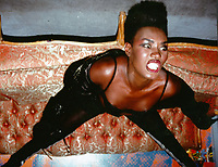 Grace Jones 1983<br /> Photo to By John Barrett/PHOTOlink/MediaPunch