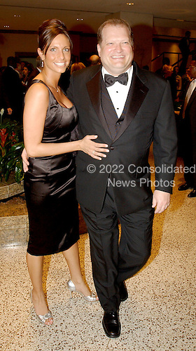 Washington, DC - May 1, 2004 -- Drew Carey, right, and Daniella Riepole, left, arrive for the 2004 White House Correspondents Association Dinner in Washington, D.C. on May 1, 2004..Credit: Ron Sachs / CNP.(RESTRICTION: No New York Metro or other Newspapers within a 75 mile radius of New York City)