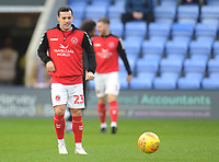 Fleetwood Town's Ross Wallace during the pre-match warm-up <br /> <br /> Photographer Kevin Barnes/CameraSport<br /> <br /> The EFL Sky Bet League One - Shrewsbury Town v Fleetwood Town - Tuesday 1st January 2019 - New Meadow - Shrewsbury<br /> <br /> World Copyright © 2019 CameraSport. All rights reserved. 43 Linden Ave. Countesthorpe. Leicester. England. LE8 5PG - Tel: +44 (0) 116 277 4147 - admin@camerasport.com - www.camerasport.com