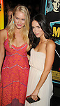 LOS ANGELES, CA - OCTOBER 18: Leven  Rambin and Abigail Spencer arrive at the 'Chasing Mavericks' - Los Angeles Premiere at Pacific Theaters at the Grove on October 18, 2012 in Los Angeles, California.