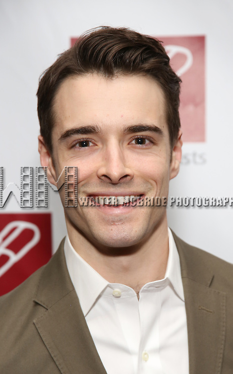 Corey Cott attends The New Dramatists' 68th Annual Spring Luncheon at the Marriott Marquis on May 16, 2017 in New York City.