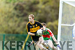 Colm Cooper Dr Crokes in Action against John Meagher Loughmore-Castleiney in the Munster Senior Club Semi-Final at Crokes Ground, Lewis Road on Sunday